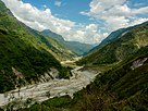 Gori river flowing through Johar Valley.