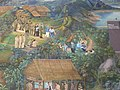 Mural painting in Songtham Pavillion - Royal Project for tribal people development in Northern Thailand.jpg
