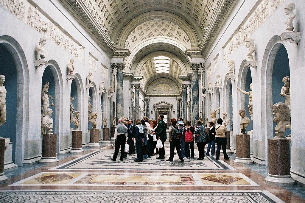 > Musée du Vatican à Rome. Photo de Jesús Moreno.