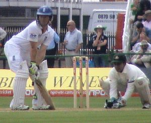 Mushfiqur Rahim - Rahim keeping wicket against England at Old Trafford in 2010