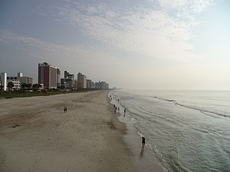 Grand Strand - A view of the beach