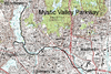 Mystic Valley Parkway, Metropolitan Park System of Greater Boston MPS
