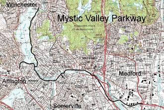 Mystic Valley Parkway - Image: Mystic valley parkway