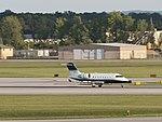 N200LS 2012 Bombardier CL-600-2B16 Landing at KCMH 1.jpg