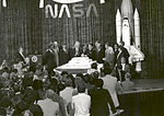 NASA 25th anniversary celebration at the National Air and Space Museum, October 19, 1983.jpg