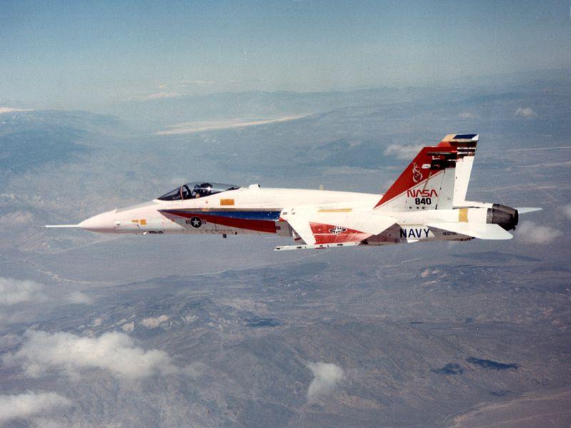 nasa f 18 pilot - photo #1