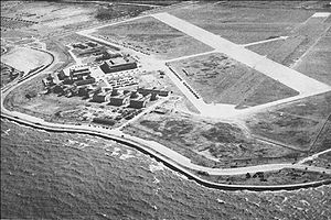 Naval Air Station Joint Reserve Base New Orleans - NAS New Orleans in the 1940s, located on the present-day main campus of the University of New Orleans