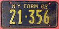 NEW YORK 1942 -FARM TRUCK LICENSE PLATE - Flickr - woody1778a.jpg