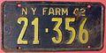 NEW YORK 1942 -FARM TRUCK LICENSE PLATE - Flickr - woody1778a.jpg