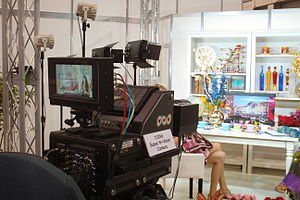 8K resolution - NHK and Hitachi demonstrating their 8K camera at the 2013 NAB Show