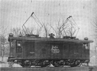 Electrification of the New York, New Haven, and Hartford Railroad