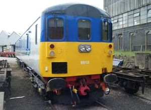 Driving Brake Standard Open - DBSO 9712 following conversion for use by NI Railways as 8918