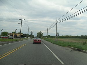 New Jersey Route 56 - Route 56 eastbound past CR 553 intersection