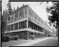 NORTH SIDE AND WEST FRONT - Wawona Hotel, Hotel, Wawona, Mariposa County, CA HABS CAL,22-WAWO,1-B-2.tif