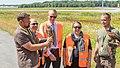 NRW-Umweltministerin Ursula Heinen-Esser - tierische Helfer am Airport Köln-Bonn-10117.jpg