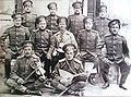 Nagayback Cossacks in Parizh village, circa 1900.jpg