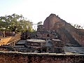 Nalanda University visited during sunset 2.jpg