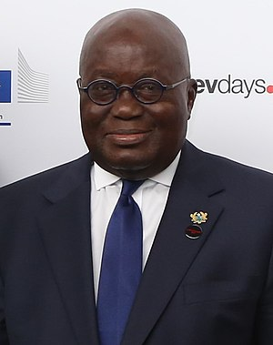 President of Ghana - Image: Nana Akufo Addo at European Development Days 2017