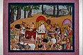 Nanda and other cowherds moving to Vrindavana Based on the story of the Bhagavata – Purana - Google Art Project.jpg