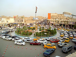 Nasiriyah City in Dhi Qar, Iraq