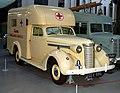 Nash ambulance, Imperial War Museum, Duxford. (31013724676).jpg