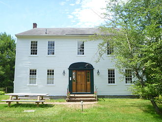 Nathaniel Hawthorne - Nathaniel Hawthorne's childhood home in Raymond, ME