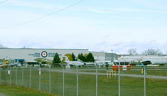 National Air Force Museum of Canada - National Air Force Museum of Canada exterior