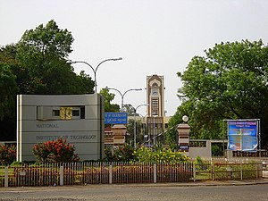Thuvakudi - The National Institute of Technology, one of the premier engineering institutes in the country