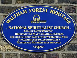 National spiritualist church (waltham forest heritage)