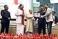 National film Award from the hon'ble president of India.jpg