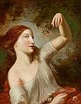 Natoire-Eine junge Frau mit Rosen.jpg