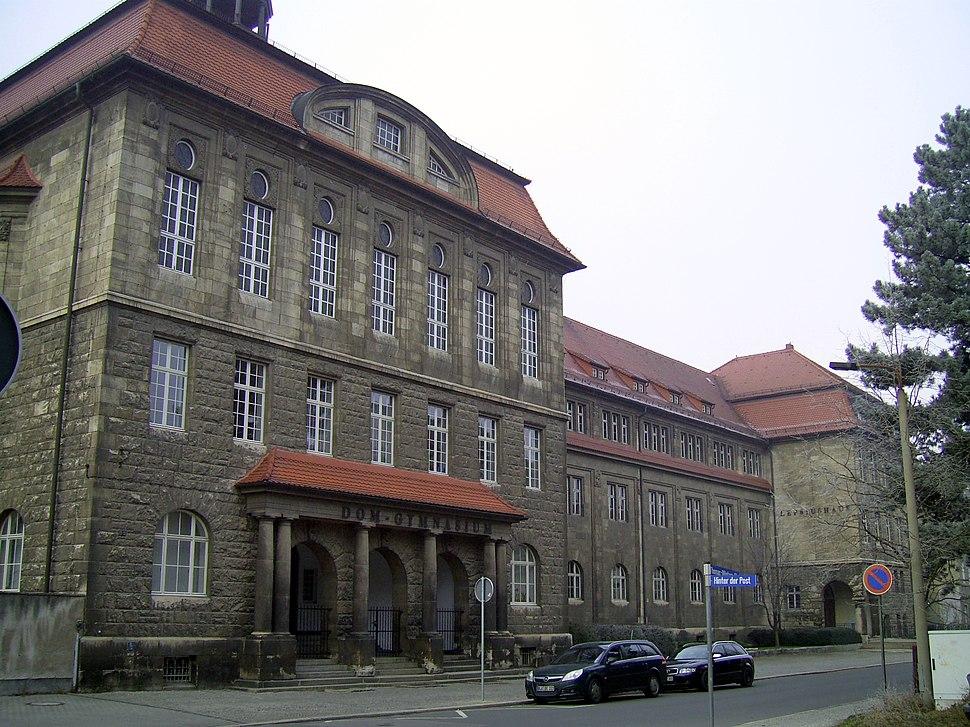 Naumburg Domgymnasium ehem Lepsiusgymnasium