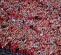 Nebraska Cornhuskers touchdown celebration.jpg