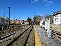 Needham Heights station platform (4), March 2016.JPG