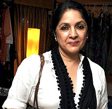 Neena Gupta at Nishka Lulla and Masaba's designs preview at Oakwood Premier