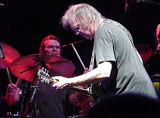 Chad Cromwell - Image: Neil Young in Nottingham 2009 (j)
