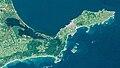 Nemuro Peninsula Hokkaido Japan SRTM.jpg