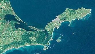Cape Nosappu - Landsat Image