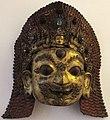 Nepal, maschera di shiva bhairava, xvi-inizio xvii sec.JPG