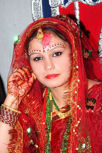 Hinduism in Nepal - Mainstream Nepali Hindu Bride