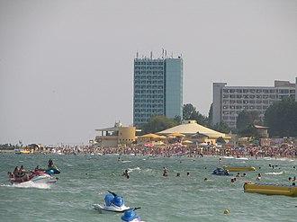Neptun, Romania - The beach
