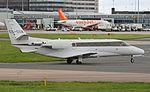 NetJets Europe Cessna 560XL Citation XLS (CS-DXW) at Manchester Airport.jpg