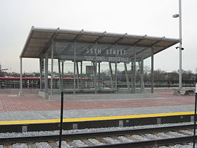 "Image illustrative de l'article Lovana S. ""Lou"" Jones/Bronzeville Station"