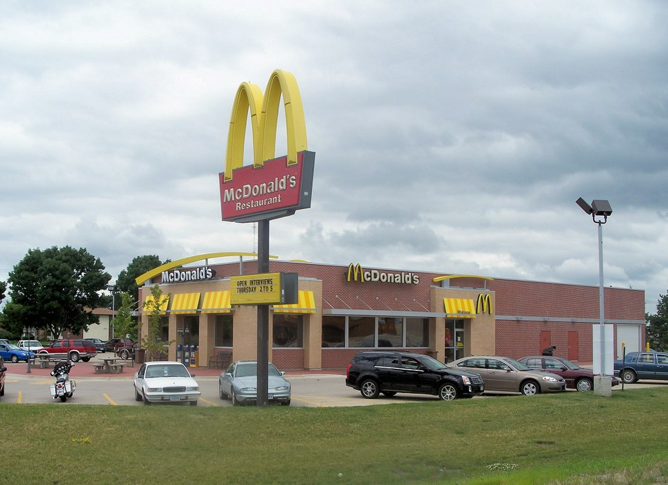 New McDonald's restaurant in Mount Pleasant, Iowa