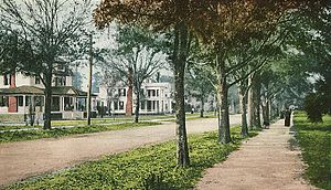 DeLand, Florida - New York Avenue in 1905