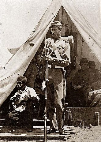 7th New York Militia - New York 7th Regiment soldier about 1861