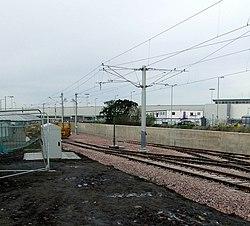 New tran line at Edinburgh Airport (geograph 3229196).jpg