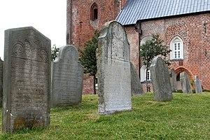 Talking Gravestones of Föhr - The cemetery of Nieblum