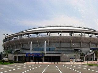 Niigata Prefectural Baseball Stadium building in Niigata Prefecture, Japan