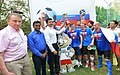 Nikolay Kudashev at a Football Tournament for Diplomatic Community ahead of the FIFA World Cup 2018, in New Delhi (1).JPG